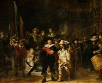 La ronda de noche, de Rembrandt