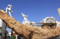 Monumento homenaje al arriero. Fotografía de Ayuntamiento de Albox