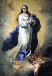 INmaculada Concepción. Cuadro de Esteban Murillo
