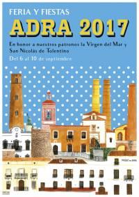 Cartel feria Adra 2017