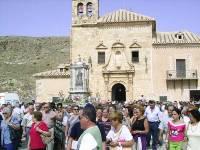 Romería de la Virgen del Saliente. Fotografia de Santuario del Saliente