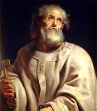 San Pedro. Detalle de un retrato de Rubens