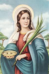 Santa Lucía. Fotografía de Wikipedia