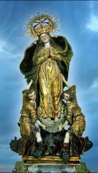 Virgen del Saliente. Fotografía de Patronas marianas de Almería